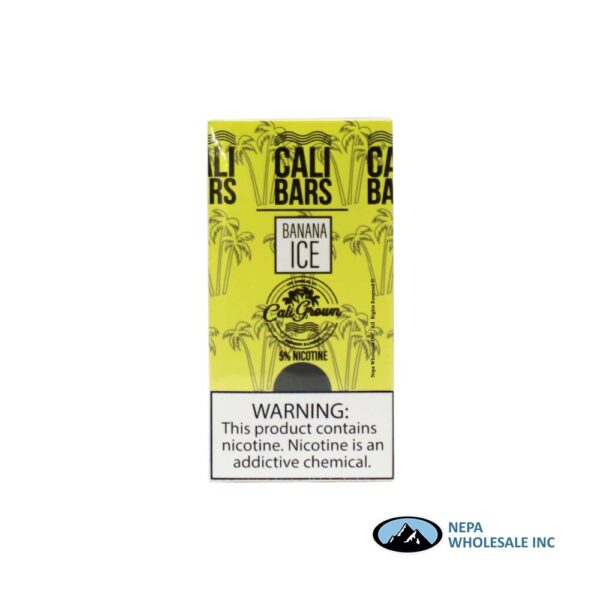 Cali Bars 5% Banana Ice