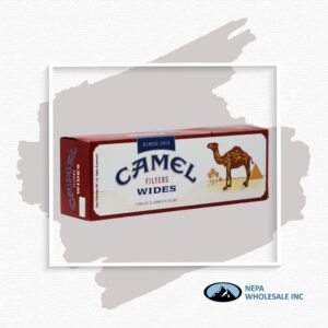 Camel Wides Cigarette Box