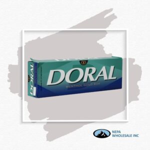 Doral King Menthol Gold Box