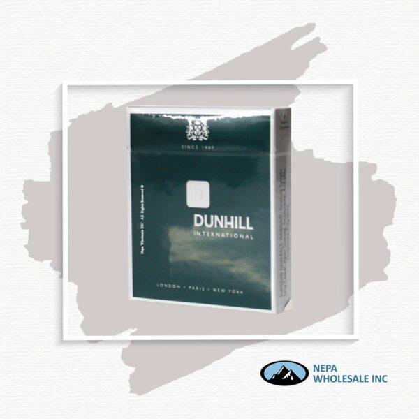 Dunhill 100's International Green Box