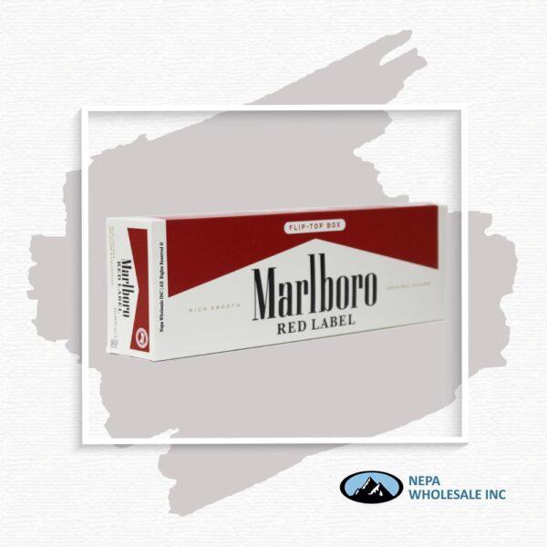 Marlboro King Red Label Box