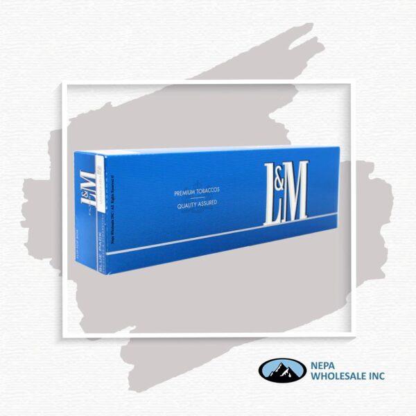 L&M King Blue Box