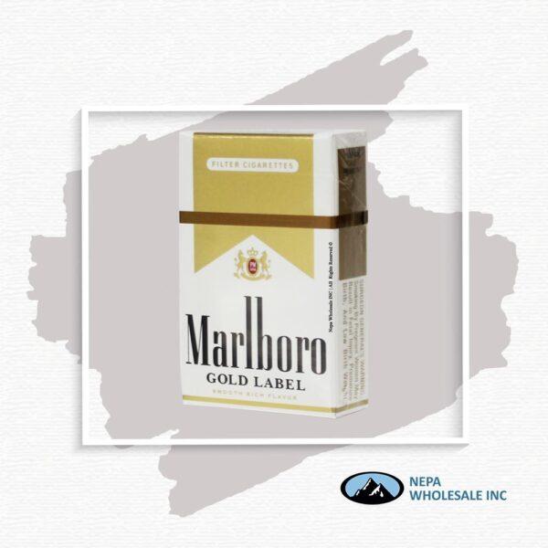Marlboro King Gold Label Box