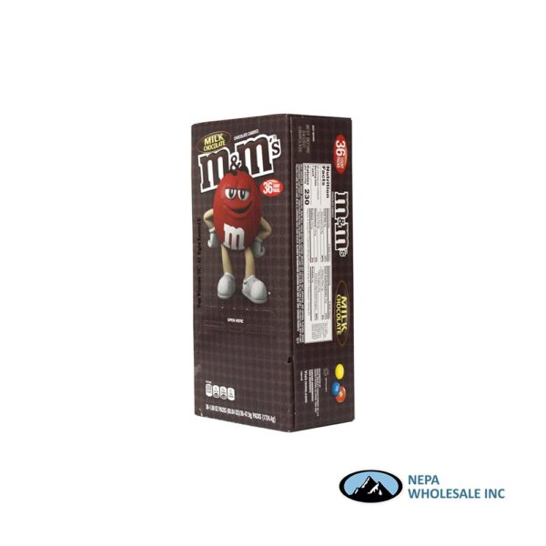 M&M 36-1.69 Oz Milk Chocolate
