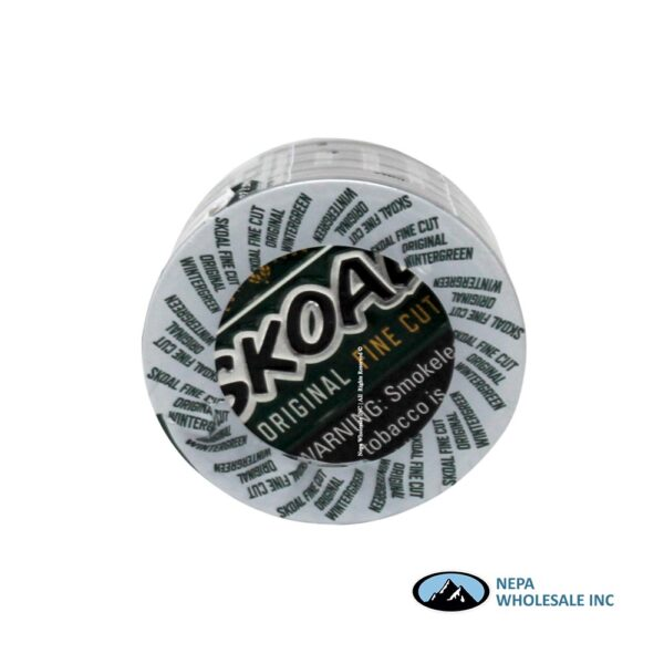 Skoal 5-1.2oz Fine Cut Wintergreen