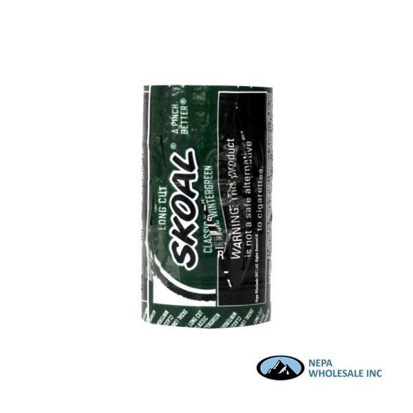 Skoal 5-1.2oz Long Cut Wintergreen
