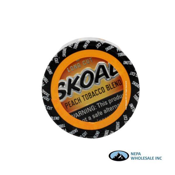 Skoal 5-1.2oz Long Cut Peach