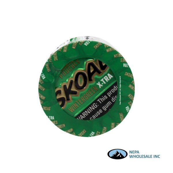Skoal 5-0.82oz Xtra Wintergreen Pouches
