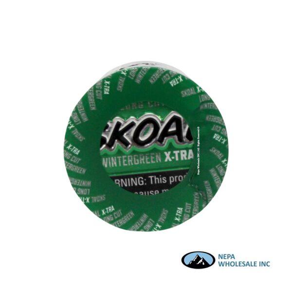 Skoal 5-1.2oz Xtra Long Cut Wintergreen