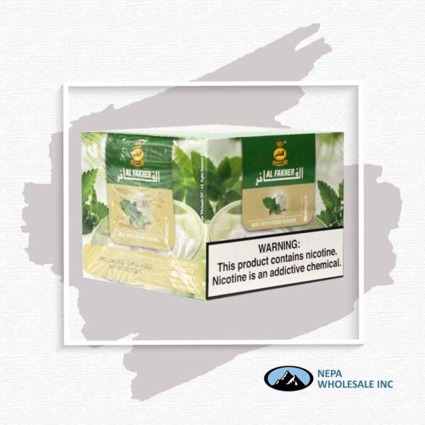 Al Fakher 250gm Cream with Mint Flavor