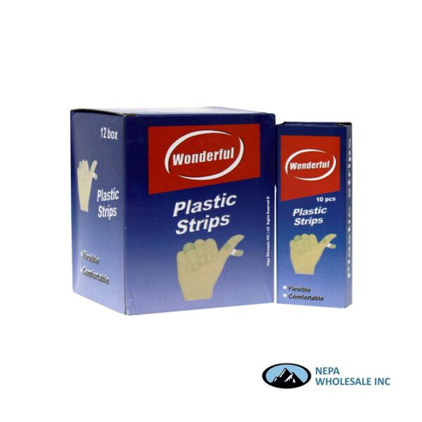 Wonderful Plastic Strips 12 CT