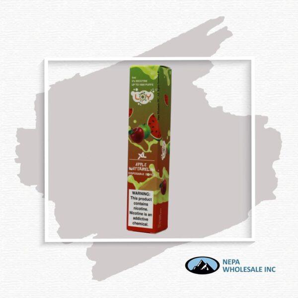 Loy Xl 5% Apple Watermelon 1X10Pk Disposable