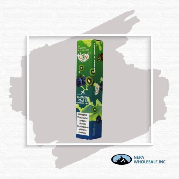 Loy Xl 5% Blueberry Kiwi Ice 1X10Pk Disposable