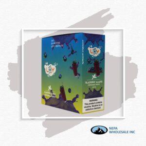 Loy Xl 5% Blueberry Slushie 1X10Pk Disposable