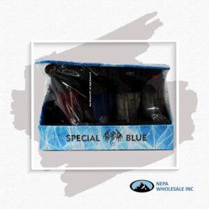 Special Blue 12Ct Bernie Double Plastic