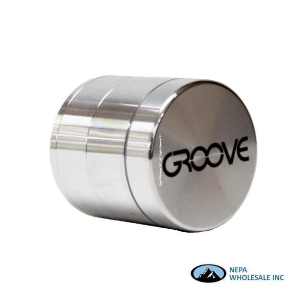 Groove Grinder Set 1Ct Silver