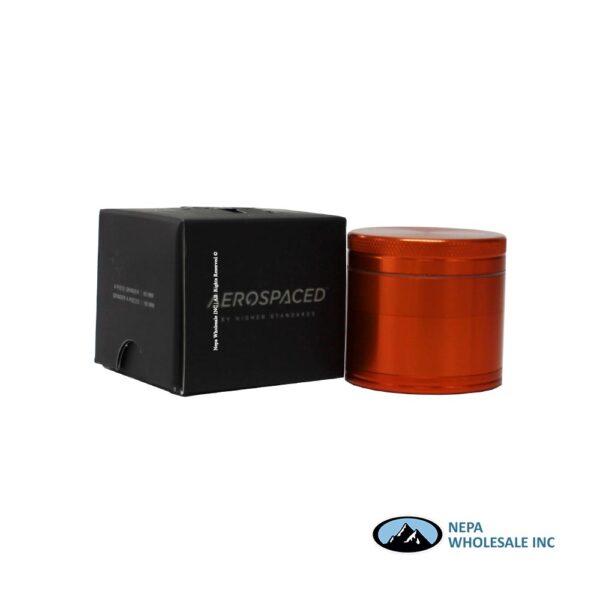 Aerospace 4 Parts 2 Inch Grinder Orange 1Ct