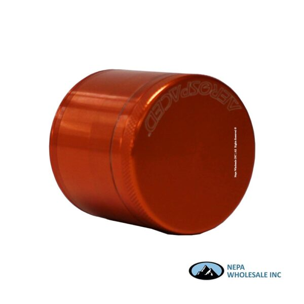 Aerospace 4 Parts 2 Inch Grinder Orange 1Ct