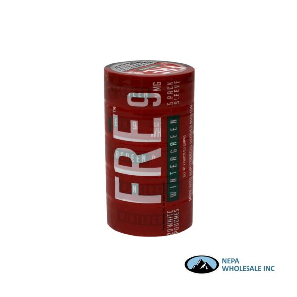 Fre 9Mg Wintergreen Pouches 1Ct