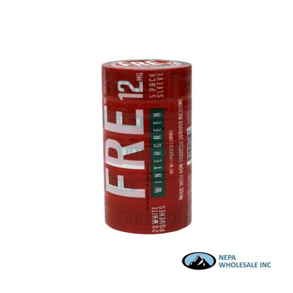 Fre 12Mg Wintergreen Pouches 1Ct