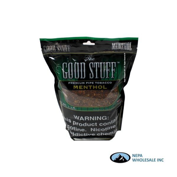 Good Stuff 16Oz Menthol Pipe Tobacco