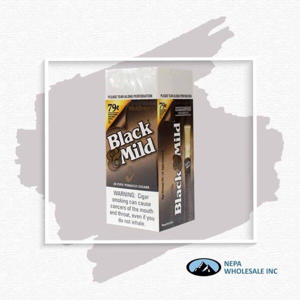 Black & Mild $0.79 Regular 25Ct
