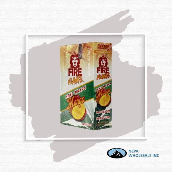 Fire Flava's Mango 25CT Hemp Wrap