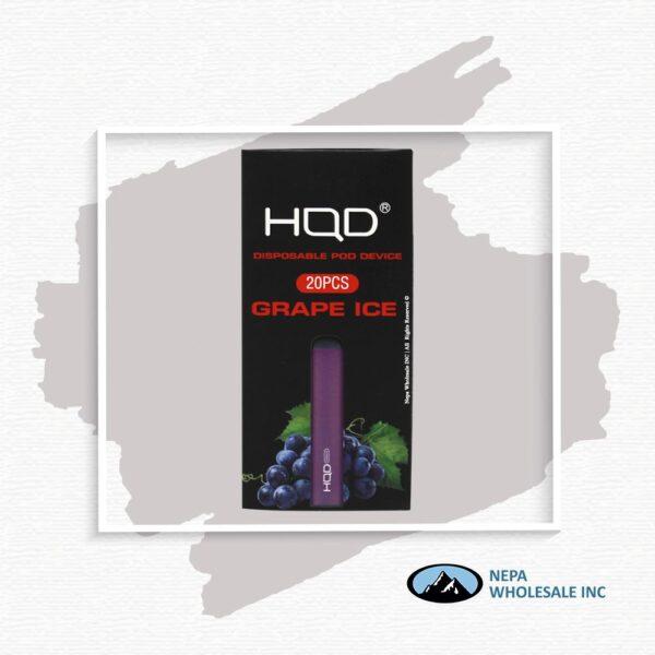 HQD Maxim Disposable 5% Grape Ice 1x20PK