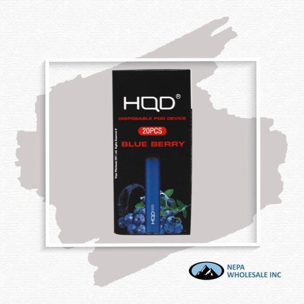 HQD Maxim Disposable 5% Blueberry 1x20PK