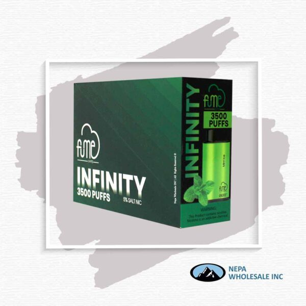 Fume Infinity 5% Mint Ice 5Pk Disposable