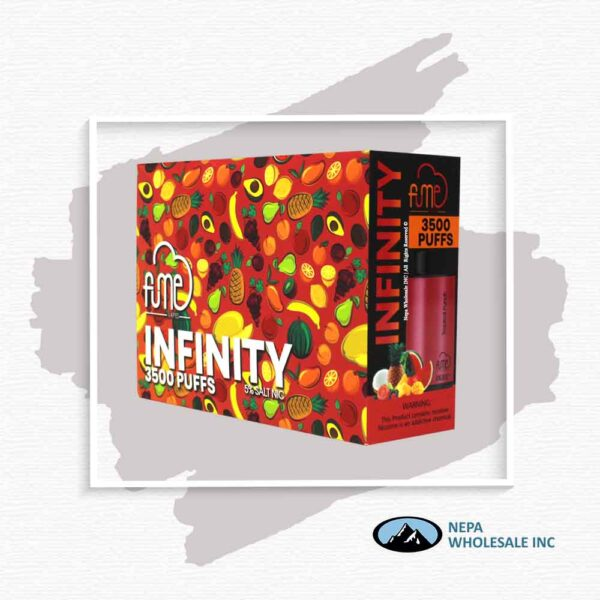 Fume Infinity 5% Tropical Punch 5Pk Disposable