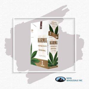 Karma 2 For $0.99 Original Hemp Wrap 25 Pack