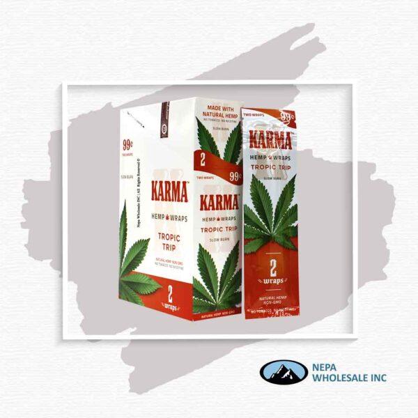 Karma 2 For $0.99 Tropic Trip Hemp Wrap 25 Pack