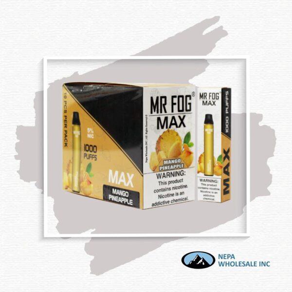 Mr Fog Max 5% Mango Pineapple 10PK