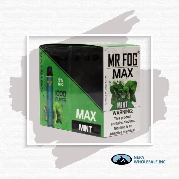 Mr Fog Max 5% Mint 10PK