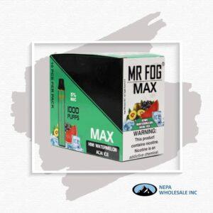 Mr Fog Max 5% Kiwi Watermelon Acai Ice 10PK
