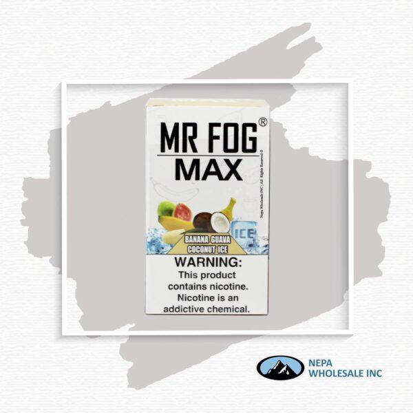 Mr Fog Max 5% Banana Guava Coconut Ice 10PK