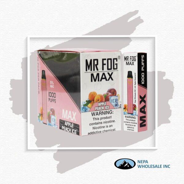 Mr Fog Max 5% Apple Peach Ice 10PK