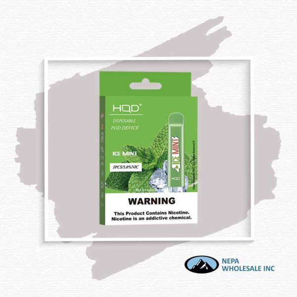 HQD V1 Disposable 5% Ice Mint 3x10PK
