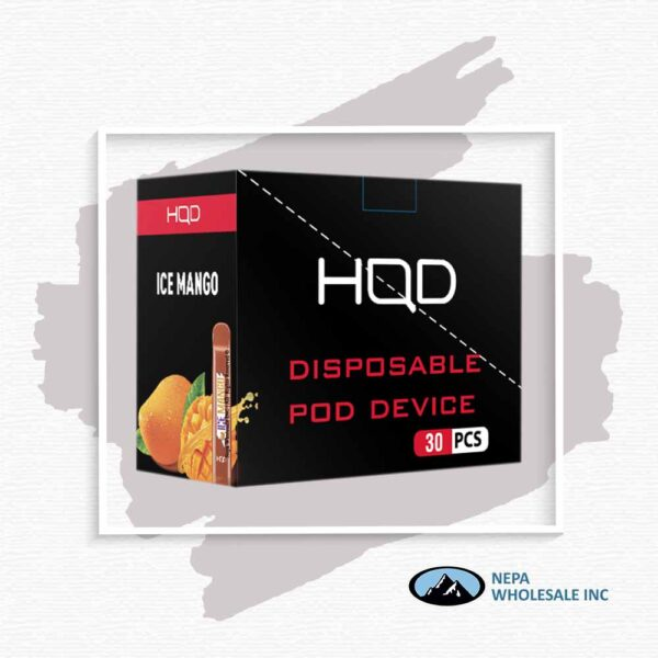 HQD V1 Disposable 5% Mango 3x10PK