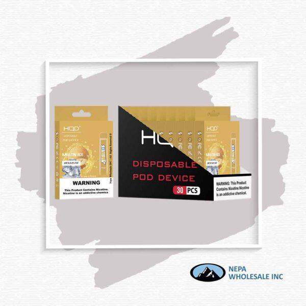 HQD V1 Disposable 5% Melon Ice 3x10PK