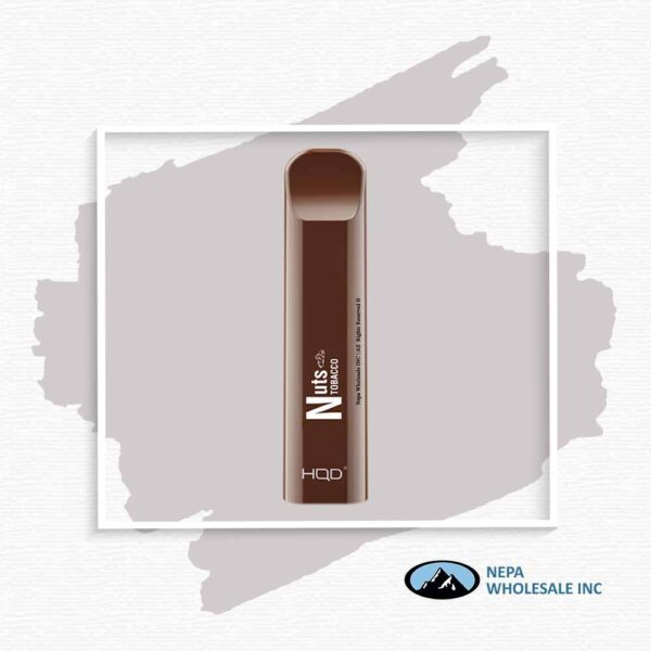 HQD V1 Disposable 5% Nuts Tobacco 3x10PK