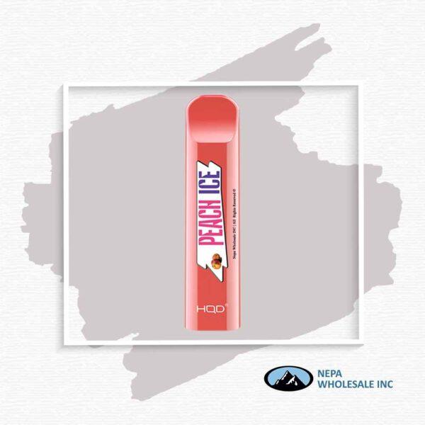HQD V1 Disposable 5% Peach 3x10PK