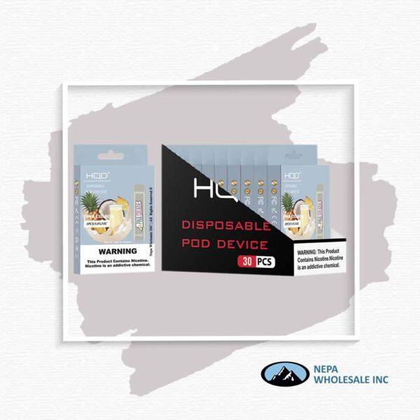 HQD V1 Disposable 5% Pina Colada 3x10PK