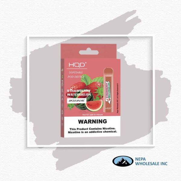 HQD V1 Disposable 5% Strawberry Watermelon 3x10PK
