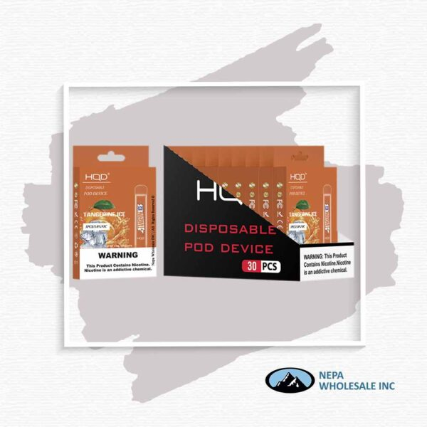HQD V1 Disposable 5% Tangerine Ice 3x10PK