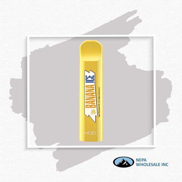 HQD V1 Disposable 5% Banana Ice 3x10PK