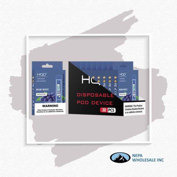 HQD V1 Disposable 5% Blue Raz 3x10PK