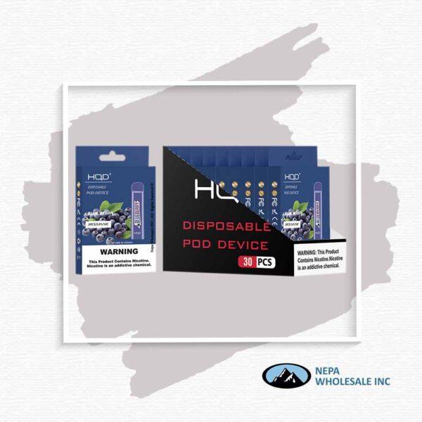 HQD V1 Disposable 5% Blueberry 3x10PK