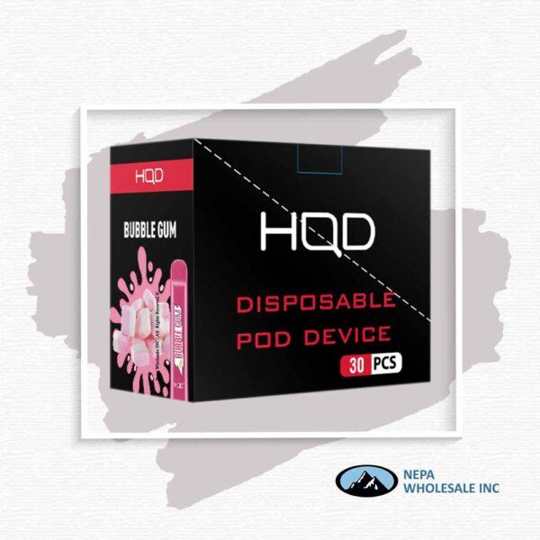 HQD V1 Disposable 5% Bubble Gum 3x10PK